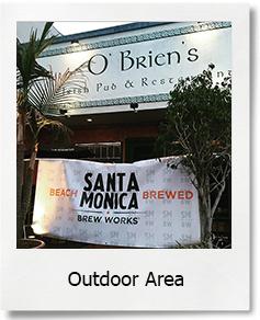 Outdoor Area O'Briens on Main Santa Monica Irish Pub Bar